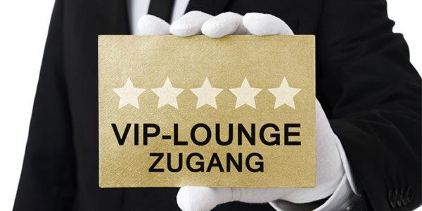 VIP-Lounge Zugang
